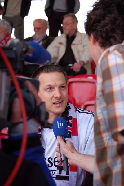 Interviews HR vor dem Spiel