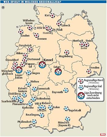 Regionalligaorte