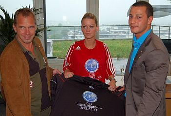 Jens Rose, Stephanie Schwarz und Mehmet G�ker