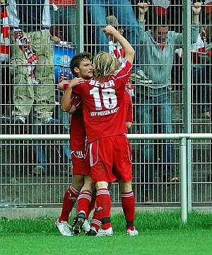 Saky Noutsos und Daniel Beyer