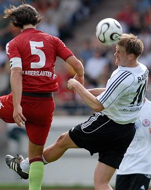 Thorsten Bauer erzielte das 1:0