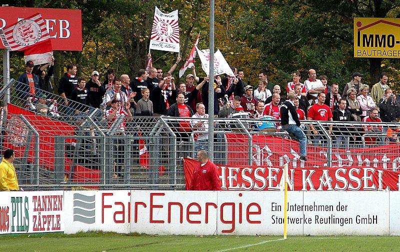 Fanblock Kassel (Jo Baur)