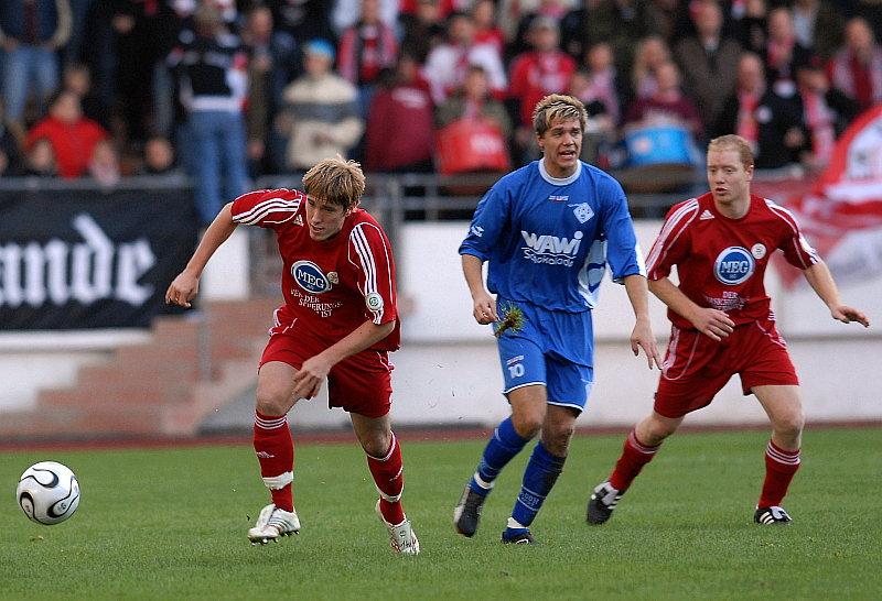 Jan Fie�er, Heiko Bzducha (Mitte) und Sebastian Busch (re.)