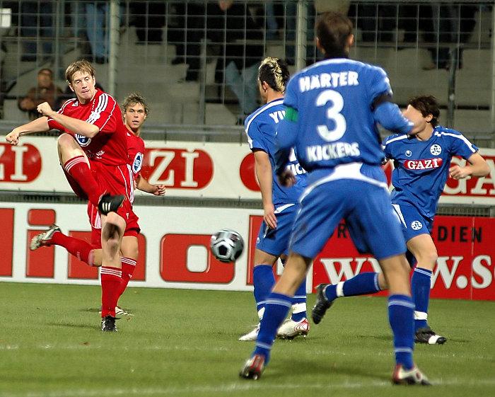 Torsten Bauer erzielt den 3. Treffer