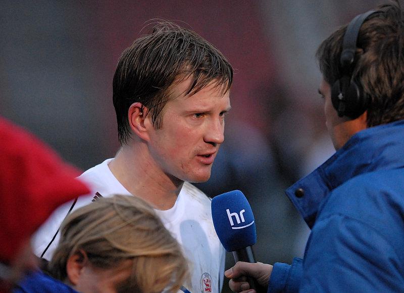 Interview f�r HR-Sendung Sport am Samstag - Thorsten Bauer