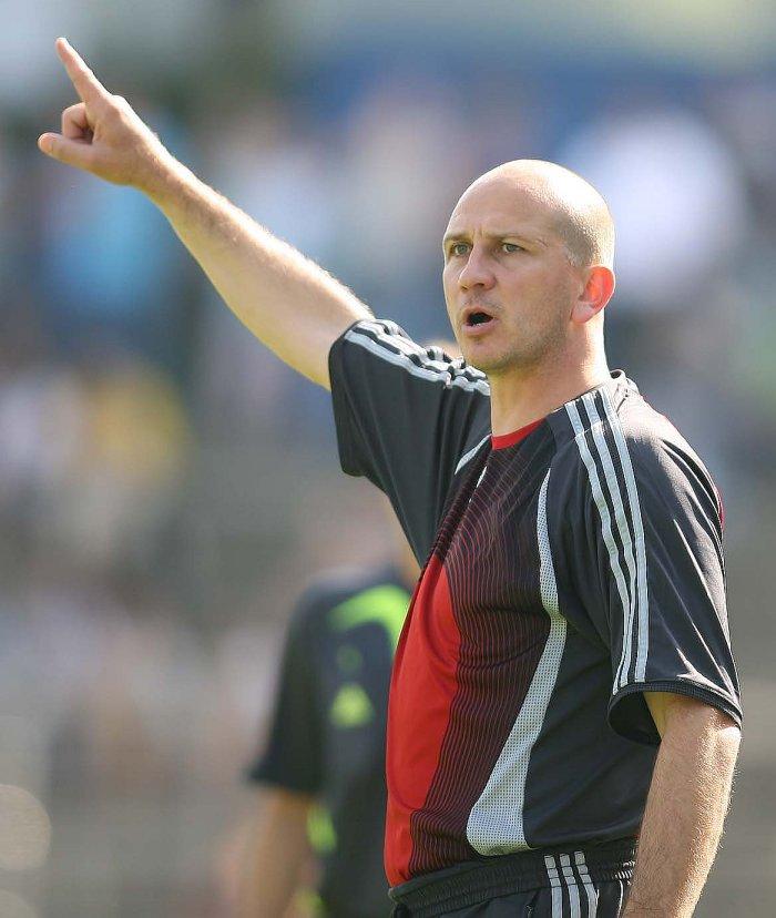 Trainer Matthias Hamann