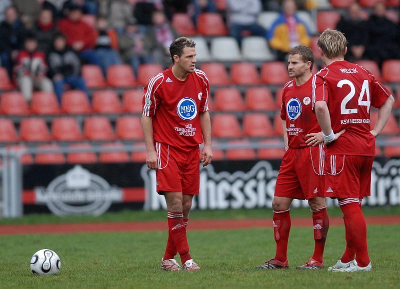 KSV Freisto�spezialisten Denis Berger, Marc Arnold und Sebastian Wojcik (von links)