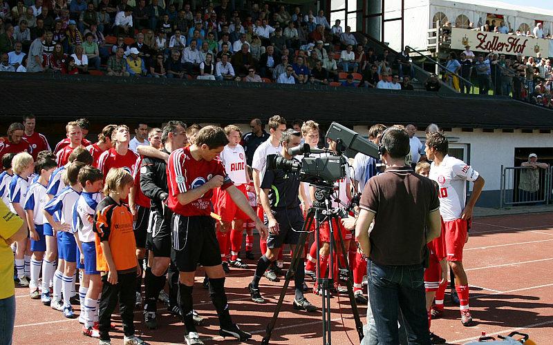 960 Besucher bei strahlendem Sonnenschein in der ALNO- Arena