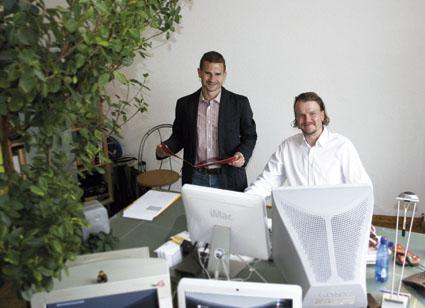 Marc Arnold mit Michael Homburg