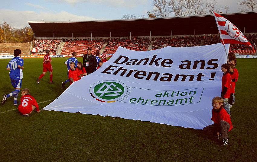 Danke ans Ehrenamt, eine Aktion des DFB