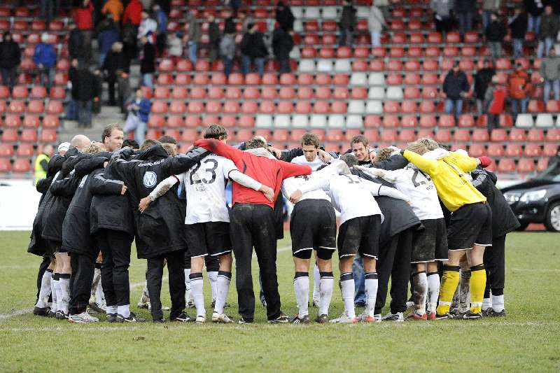 KSV Hessen - Greuther F�rth II: Mannschaftskreis