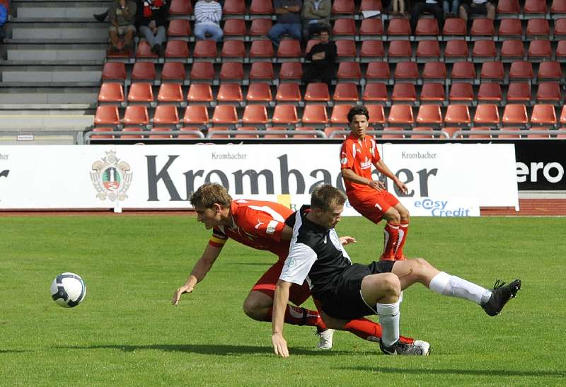 KSV Hessen - SG Sonnenhof Grossaspach: Thorsten Bauer