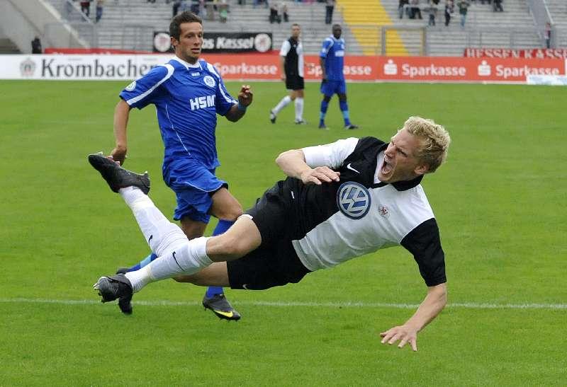 KSV Hessen - SC Pfullendorf: Sebastian Gundelach