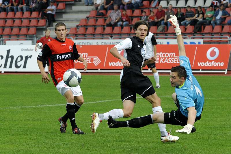KSV Hessen - Eintracht Frankfurt II: Marcel Stadel