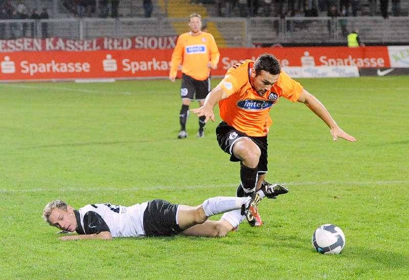KSV Hessen - VfR Aalen: Dennis Tornieporth