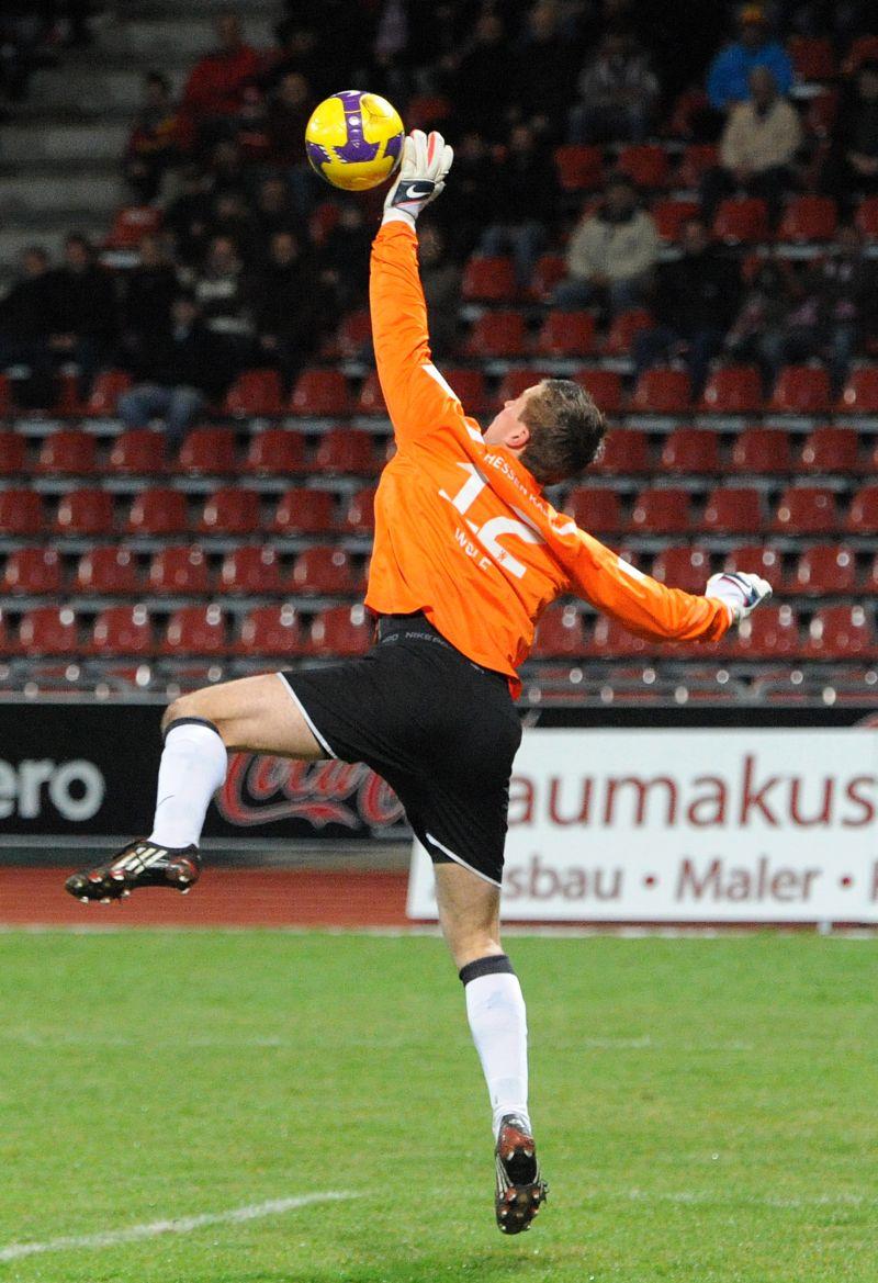 KSV Hessen - Karlsruher SC II: Tobias Wolf