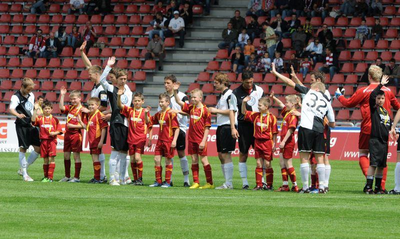 KSV Hessen - SV Wehen Wiesbaden II: Vor dem Anpfiff