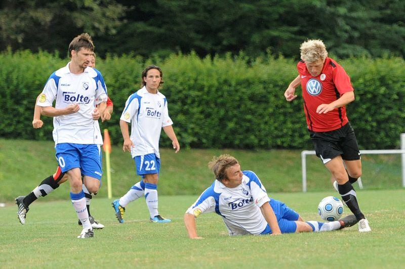 Kreispokalfinale OSC-Vellmar - KSV Hessen: Andreas Mayer