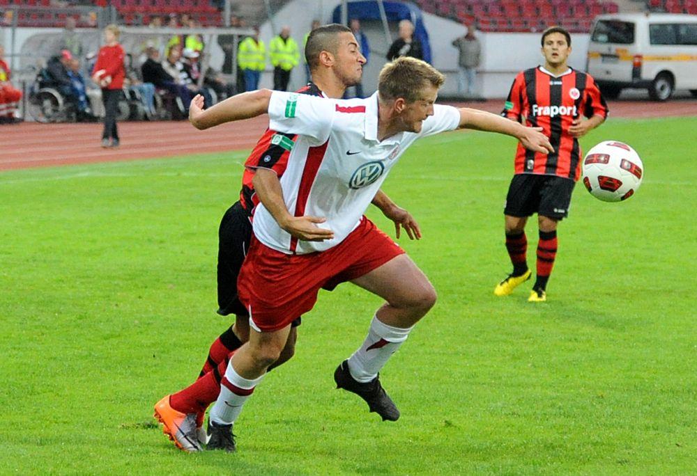 KSV Hessen - Eintracht Frankfurt II: Thorsten Bauer