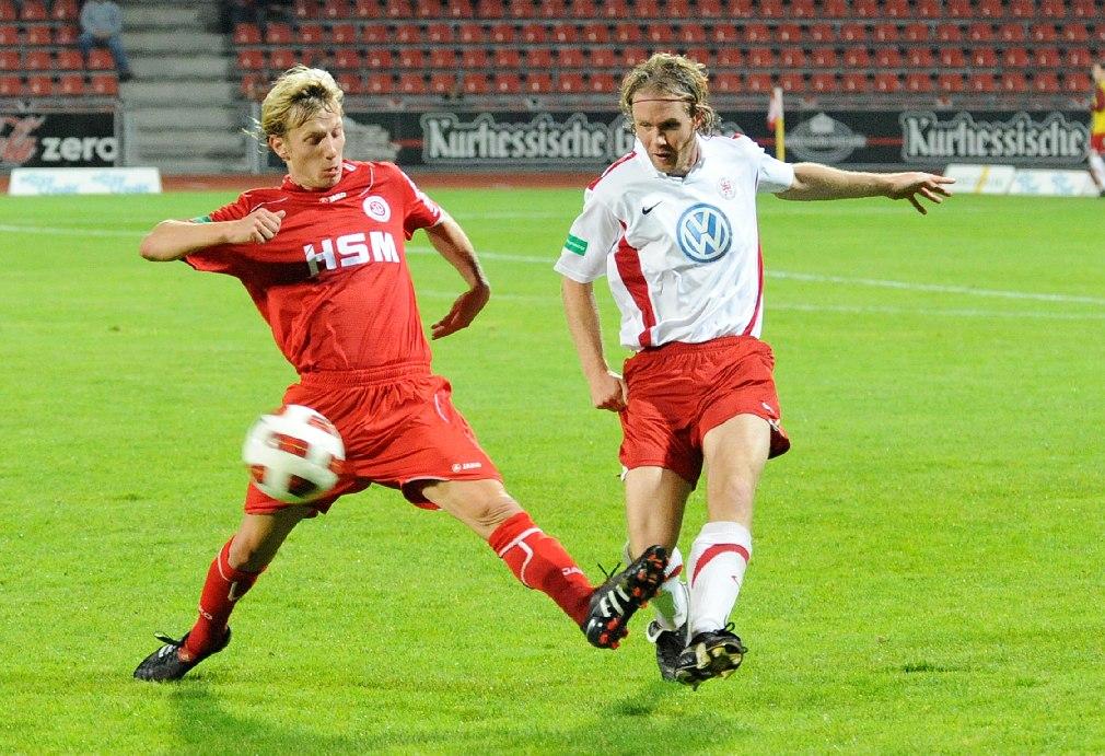 KSV Hessen - SC Pfullendorf: Mario Neunaber