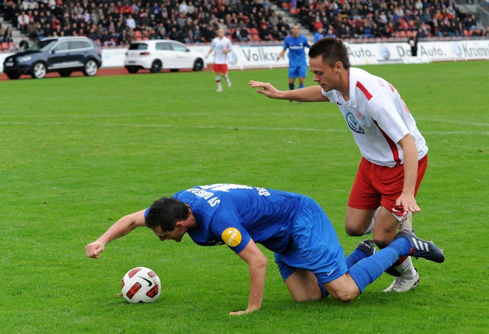 KSV Hessen - SV Darmstadt 98: Manuel Pforr