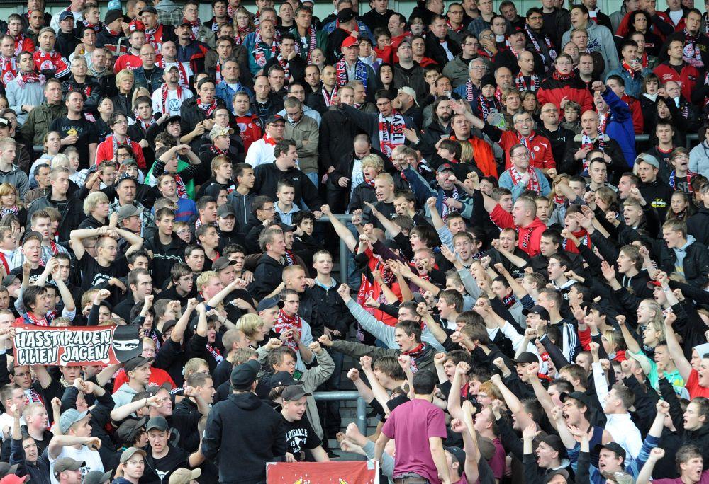 KSV Hessen - SV Darmstadt 98: Fans