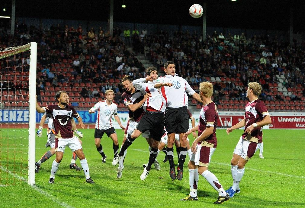 Impressionen KSV Hessen gegen Hannover 96