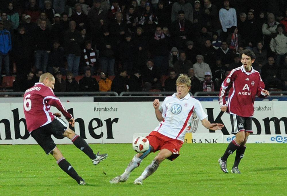 KSV Hessen - 1. FC N�rnberg II: Andreas Mayer