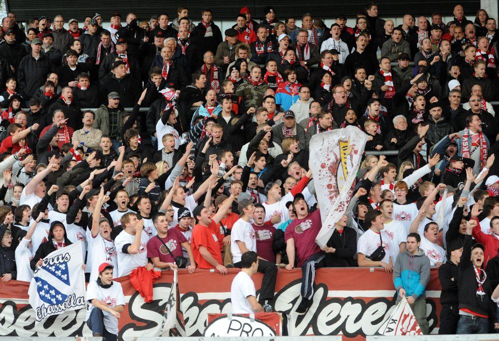 KSV Hessen - 1860 M�nchen II: Fans