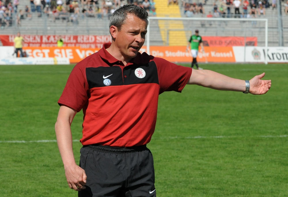 KSV Hessen - Stuttgarter Kickers: Christian Hock