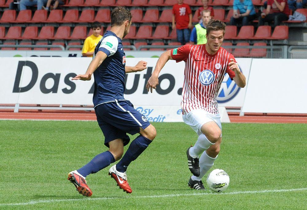 KSV Hessen - SC Freiburg II: Tobias Damm