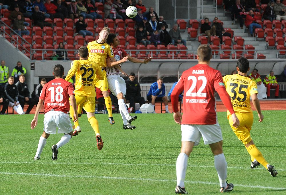 KSV Hessen - Stuttgarter Kickers: Caner Metin, Jens Grembowitz, Tobias Damm