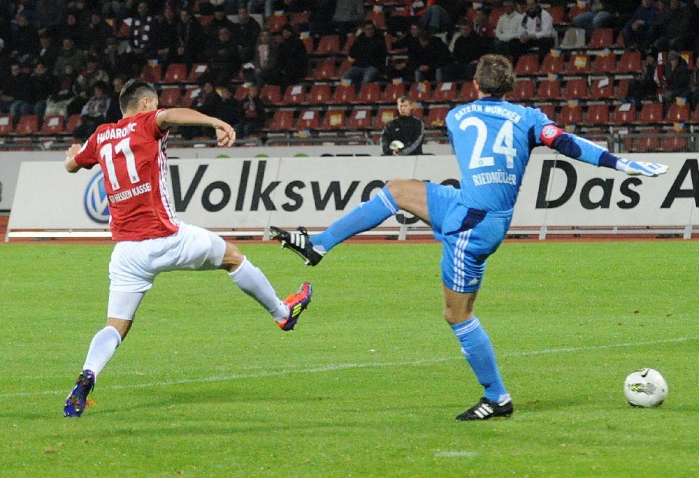 KSV Hessen - Bayern M�nchen II: Nazif Hajdarovic