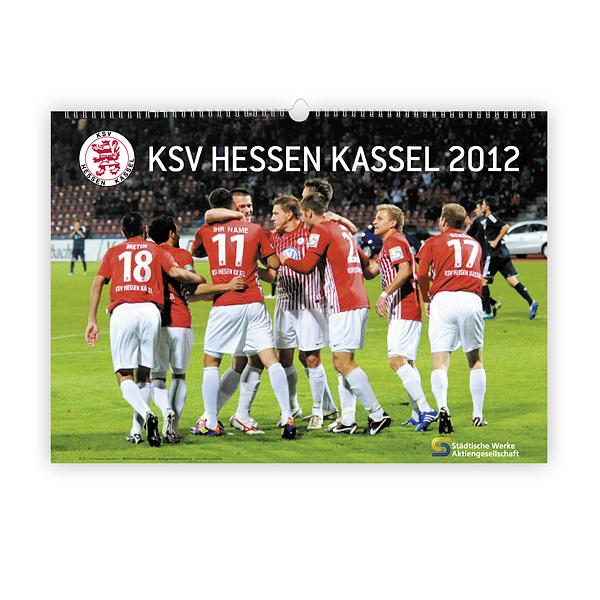 Personalisierter Fankalender 2012