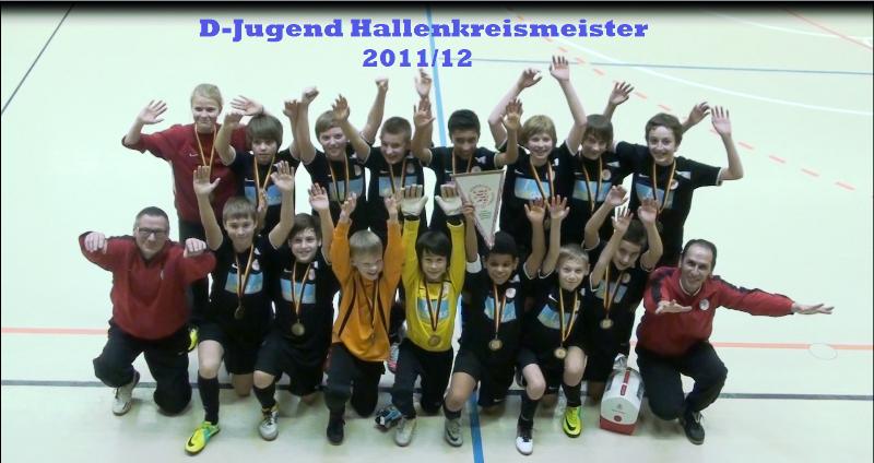 Die U12 des KSV Hessen Kassel erringt die Hallenkreismeisterschaft