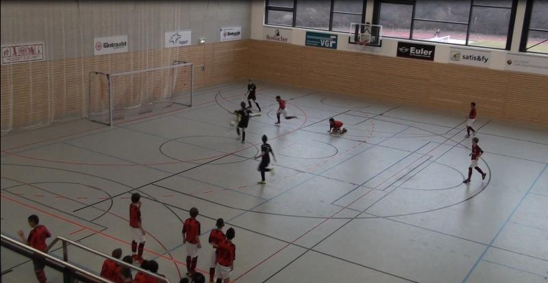 U12 - Chance zum Ausgleich gegen Eintracht Frankfurt