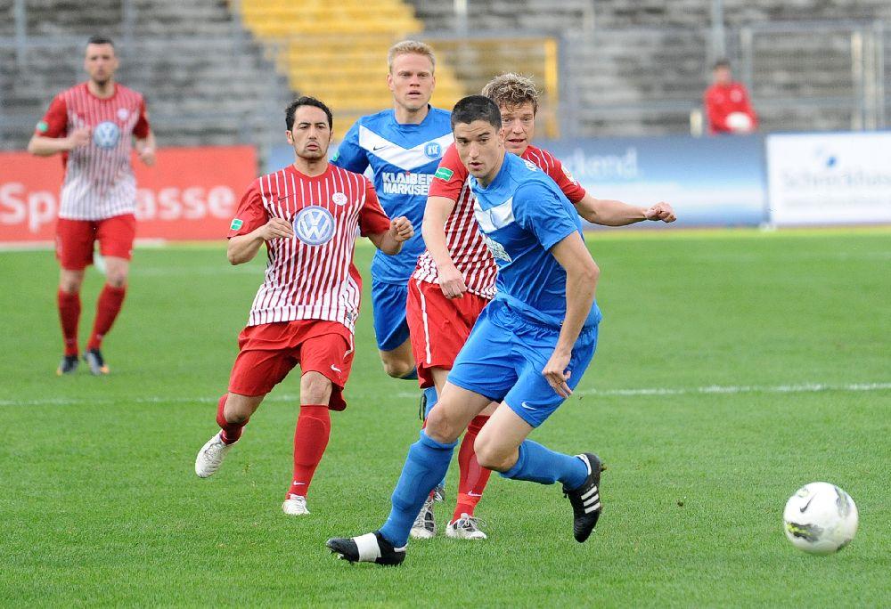 KSV Hessen Kassel, Karlsruhe SC II, Christopher Nguyen, Andreas Mayer