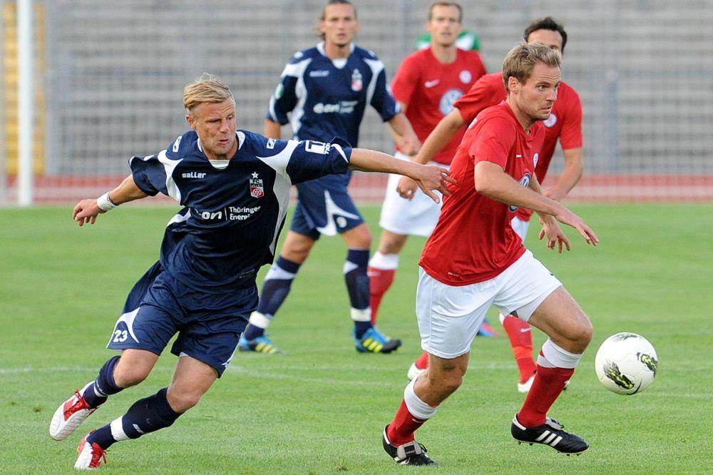 KSV Hessen Kassel, Erfurt, Testspiel, Enrico Gaede