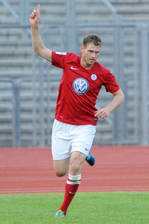 KSV Hessen Kassel, OSC Vellmar, Krombacher Pokal, Jubel, Ingmar Merle