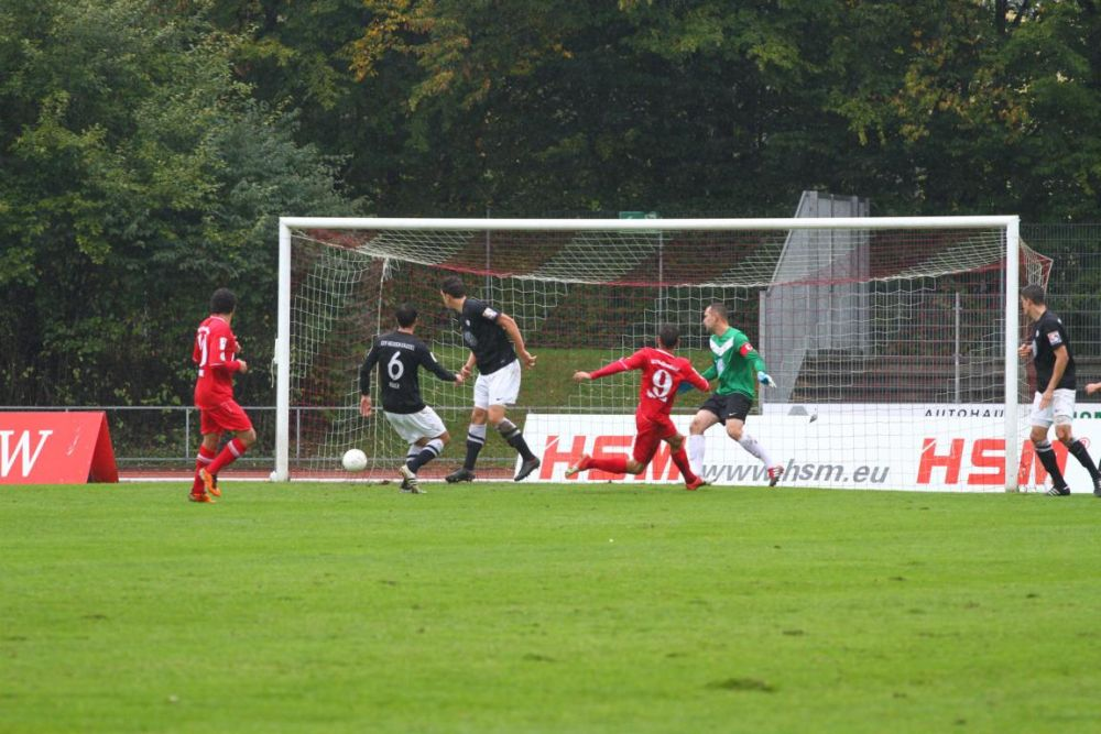 SC Pfullendorf - KSV Hessen: Tobias Becker