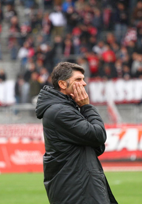 Uwe Wolf vor dem Spiel gegen Eintracht Trier