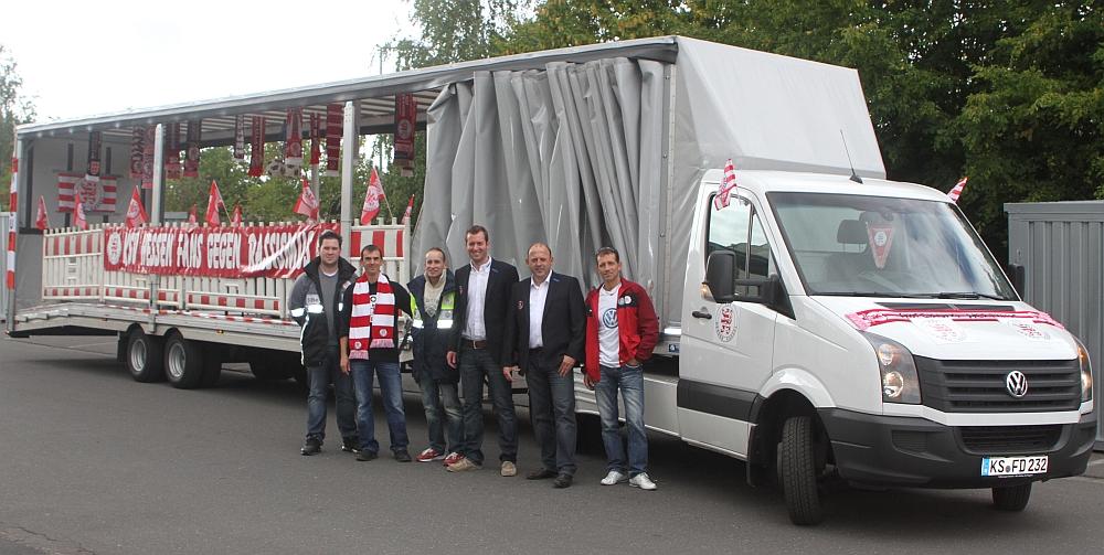 Aufstellung: u.a. Eick R�sch, Simon Eberle, Dirk Wiegand, Markus L�mmer