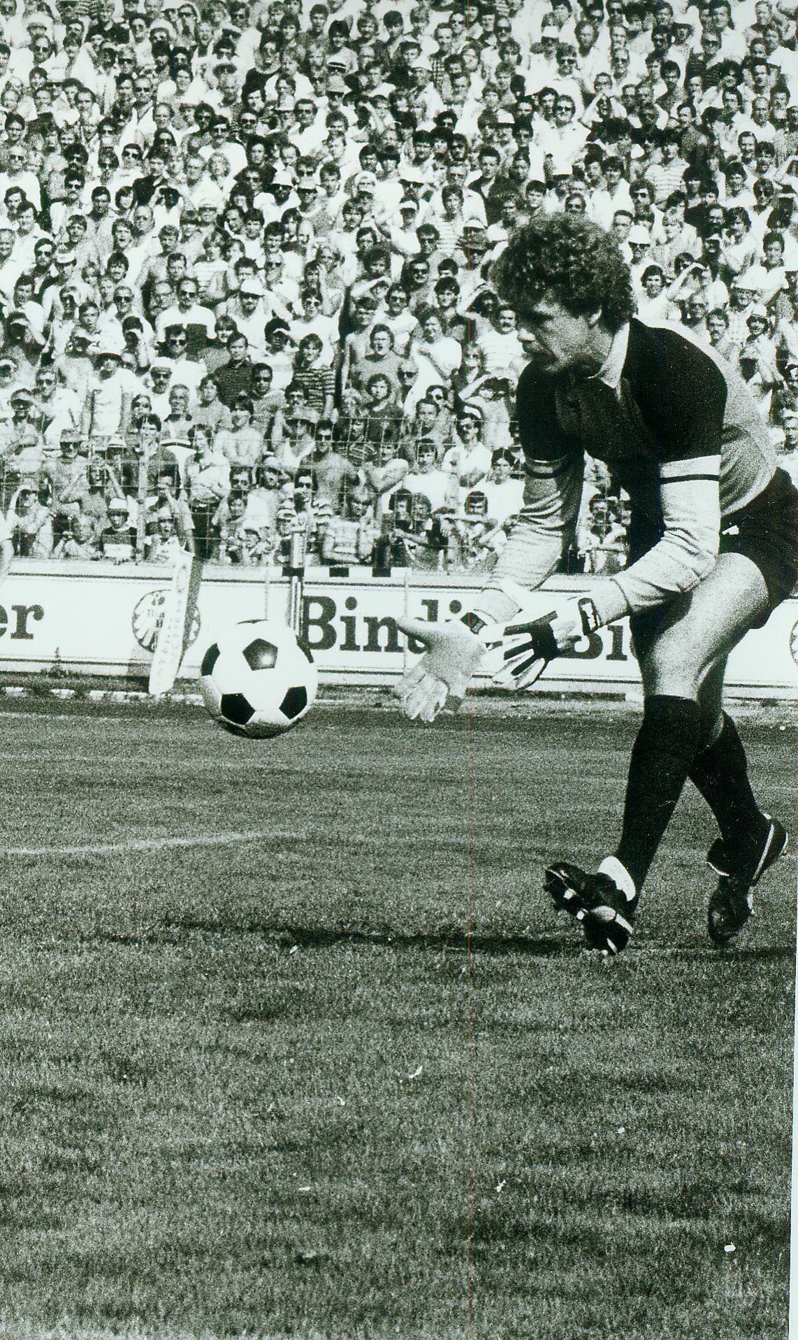 Hans Wulf 1983 im Auestadion