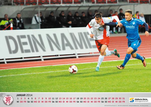 Kalender f�r 2014