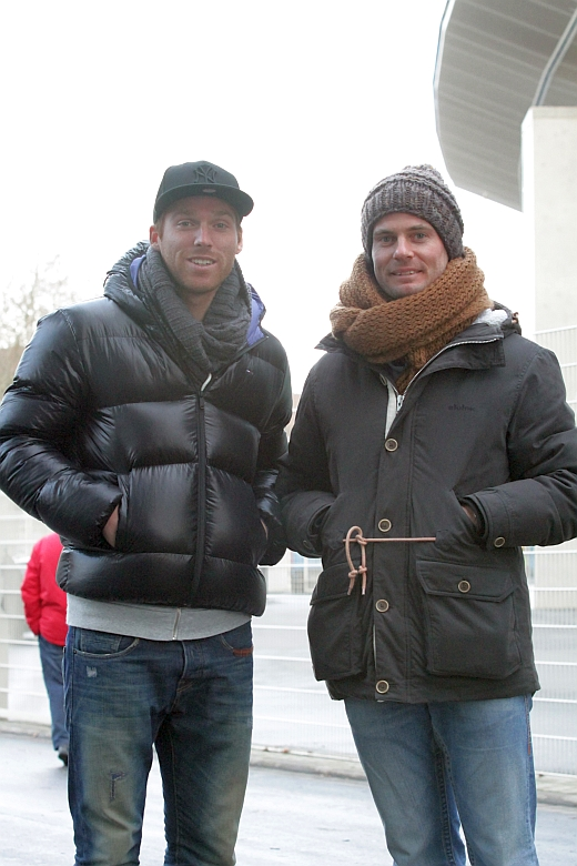 Nico Hammann und Enrico Gaede