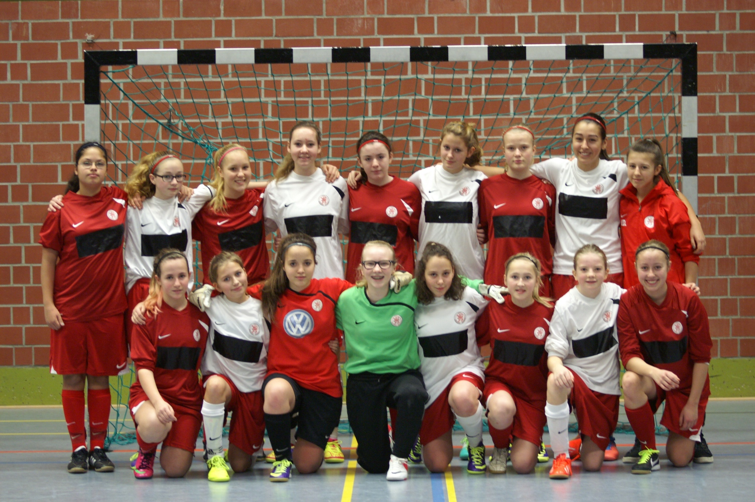 C-Juniorinnen - Futsal-Hinrunde 2013/2014