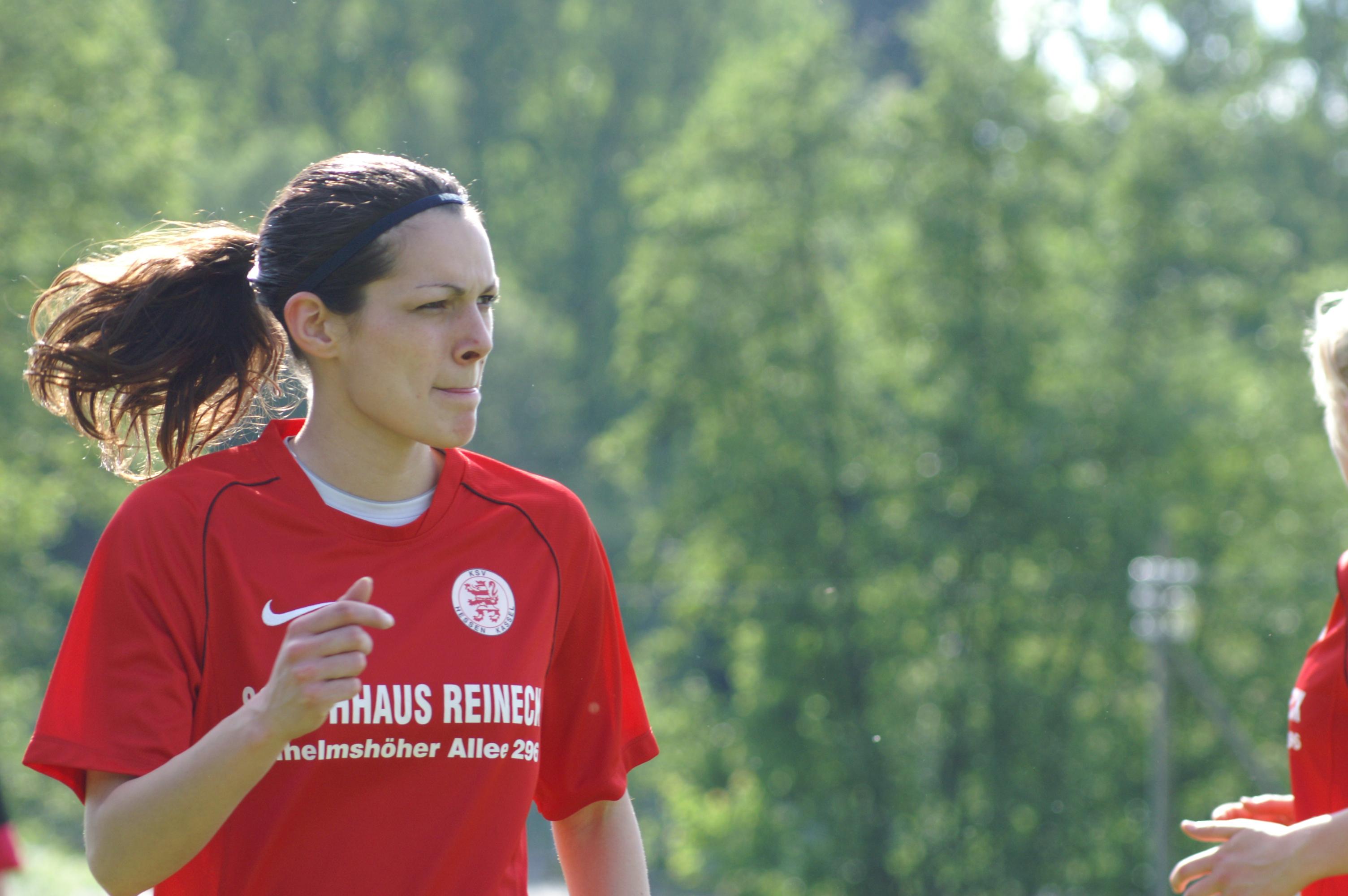 FSV Friedensdorf - KSV Hessen Frauen 2:1 (0:1): Lisa Lattermann