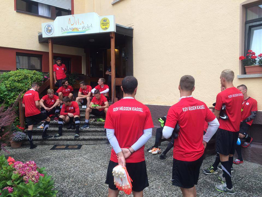 Trainingslager in Waldbreitbach