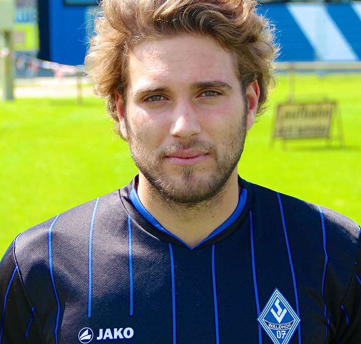 Shqipon Bektashi - Hier noch im Dress des SV Waldhof Wannheim