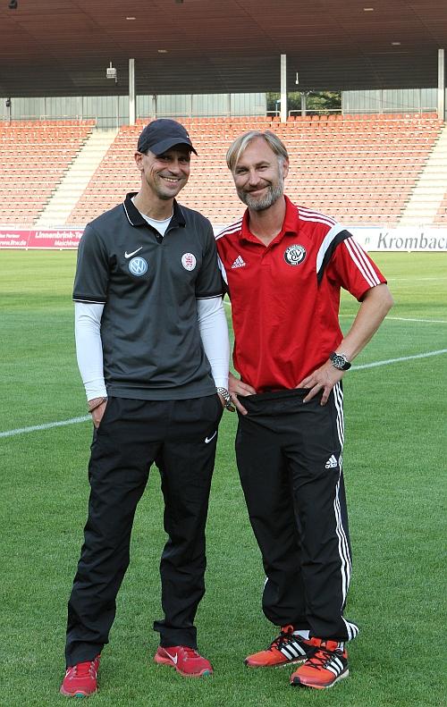 Matthias Mink und Willi Kronhardt